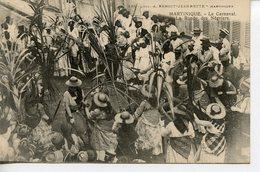 911. CPA MARTINIQUE. LE CARNAVAL. LA RONDE DES NEGRIERS - Martinique
