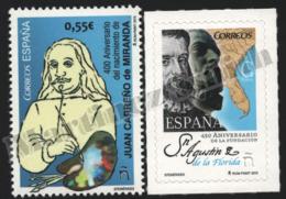 Spain - Espagne 2015 Yvert 4706-07, Centenary Of The Birth Of Painter Juan Carreño De Miranda - MNH - 1931-Hoy: 2ª República - ... Juan Carlos I