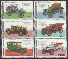 Togo - YT 893-894 + PA 310-313 ** - 1977 - Voitures Automobiles Anciennes - Togo (1960-...)