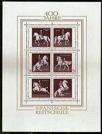 Austria 1972 Spanish Horse Riding Scool Animal Sc 929 Sheetlet MNH # 9107 - Horses