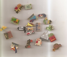 Lot De 20 Pins Sans Attache - Pin's