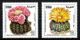 SYRIE. N°1061-2 De 1996. Cactus. - Cactus