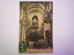 2019 - 978  SAINT-CLAR  (Gers)  :  Intérieur De L'Eglise , Vue Prise Du Choeur  -  Magnifiques Orgues Et Chaire  1912  X - Autres Communes