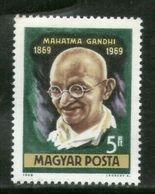 Hungary 1969 Mahatma Gandhi Of India Birth Centenary 1v MNH # 12671A - Mahatma Gandhi