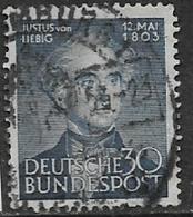 Germany, 1953, Von Liebig, 30 Pf, Used - [7] Federal Republic