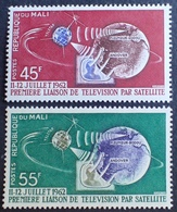 R1949/304 - 1962 - MALI - Télécommunications Spatiales - N°55 à 56 NEUFS** - Mali (1959-...)