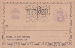 Entier  Postal Stationery - Equateur/Ecuador - 3c. - Equateur