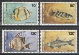 Togo - YT 1220-1223 ** - 1987 - Poissons - Fishes - Togo (1960-...)