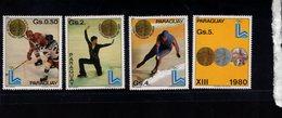 739906679  POSTFRIS MINT NEVER HINGED POSTFRISCH EINWANDFREI  SCOTT 1985A 1985G 1980 WINTER OLYMPICS LAKE PLACID - Paraguay