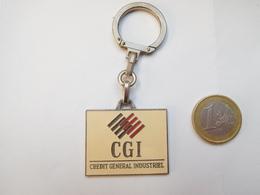 Beau Porte Clés , Banque , Crédit Général Industriel , CGI - Porte-clefs