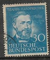 Germany, 1952, Philipp Reis, 30 Pf, Used. , Used - [7] Federal Republic
