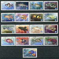 Lesotho 1998 Year Of The Ocean - Fishs Set Used (SG 1466-1514) - Thins On Couple Of Values - Lesotho (1966-...)