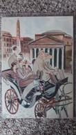 CPSM ROME ROMA THE PANTHEON THE ROMAN CAB DRIVER KNOWS FAR MORE THAN A PROFESSOR  A 5 - Panthéon