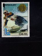 739907831  POSTFRIS MINT NEVER HINGED POSTFRISCH EINWANDFREI  SCOTT 1987 WINTER OLYMPICS LAKE PLACID - Paraguay