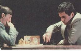 Schach Chess Ajedrez échecs - 1990 Karpow - Kasparow - Kalender