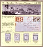 USA Block 58 ** 150 JAHRE BRIEFMARKEN AUF HAWAII - Blocks & Kleinbögen