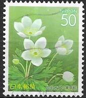 JAPAN (TOKYO PREFECTURE) 2004 Seasonal Splendours - 50y - Anemone Flaccida FU - 1989-... Empereur Akihito (Ere Heisei)