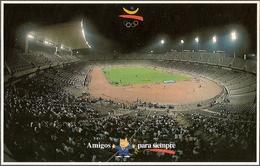 ESTADIO OLIMPIC MONTJUIC - 328 - BARCELONA - STADIUM - STADE - STADIO - CAMPO FUTBOL - Fútbol