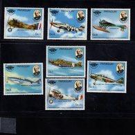 739910960  POSTFRIS MINT NEVER HINGED POSTFRISCH EINWANDFREI  SCOTT 1938A - 1938G AIRPLANE - Paraguay