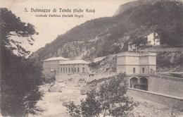 SAN DALMAZZO DI TENDA-VALLE ROIA-CUNEO-CENTRALE ELETTRICA(SOCIETA NEGRI)-CARTOLINA VIAGGIATA IL 8-11-1917 - Cuneo