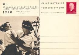 CSSR - 1948 , BPK Tanzende Frauen - Danse