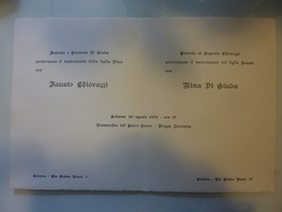 Partecipazione Di Nozze Salerno 1972 - Annunci Di Nozze