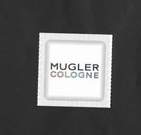 MUGLER COLOGNE - Cartes Parfumées
