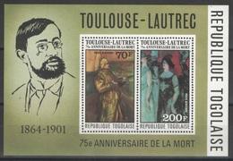 Togo - Bloc - YT 97 ** - 1976 - Toulouse-Lautrec - Togo (1960-...)