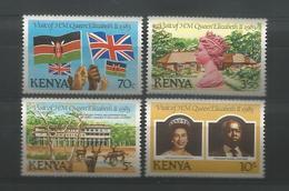 Kenya 1983 Queen's Visit Y.T. 275/278 ** - Kenya (1963-...)