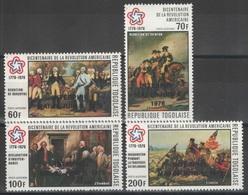 Togo - YT PA 272-275 ** - 1976 - Bicentenaire De L'indépendance Des Etats-Unis - Togo (1960-...)