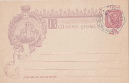 Entier  Postal Stationery - Açores - 1898 - Azores