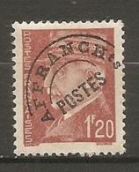 PREO Yv. N° 85  *  1f20  Type R  Type Pétain   Cote 1,5 Euro BE   2 Scans - Precancels