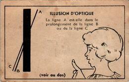 I) Image Illusion D'Optique Imprimeries Chambrelent S A ETIOP à Paris En L'Etat - Altri