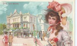 Spa Les Bains - Elexitr De Spa - Schaltin Pierry & Cie - 1907 - Spa