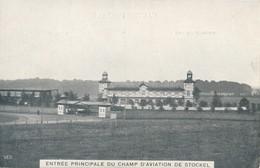 CPA - Belgique - Woluwe-St-Pierre - St-Pieters-Woluwe - Entrée Principale Du Champ D'aviation De Stockel - Woluwe-St-Pierre - St-Pieters-Woluwe