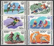 Togo - YT 867-869 + PA 280-282 ** - 1976 - Jeux Olympiques De Montréal - Togo (1960-...)