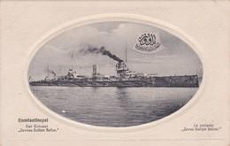 Turquie Constantinople Istanbul RARE Le Croiseur Javus Sultan Selim - Turkije