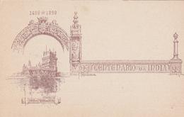 Entier  Postal Stationery - Açores - 1898 - Centenario Da India Torre De Ste Maria De Belem - Azores
