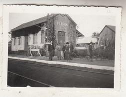Gare De Fléron - Animé - Photo Format 6.5 X 9 Cm - Lugares