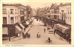 Breda - Veemarktstrat (top Animatie, Restaurant, Kapper,...1929) - Breda