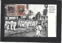 CPA Libéria Afrique Noire Circulé - Liberia
