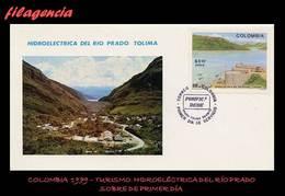 AMERICA. COLOMBIA SPD-FDC. 1979 TURISMO. HIDROELÉCTRICA DEL RÍO PRADO - Colombie