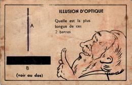 III) Image Illusion D'Optique Imprimeries Chambrelent S A ETIOP à Paris En L'Etat - Altri
