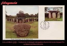 AMERICA. COLOMBIA SPD-FDC. 1979 TURISMO. PARQUE ARQUEOLÓGICO DE SAN AGUSTÍN - Colombie