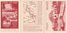 Genval-les-Eaux - Dépliant Publicitaire Pour L'Hostellerie La Baraque Construite En 1936 - TBE - Publicités