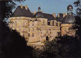 Cp , 24 , HAUTEFORT , Le Château , La Façade Ouest Vue De La Table De Pierre - Francia