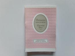 "Esprit De Parfum~~~"" Diorissimo  ** Échantillon S/ Carte  1,2 Ml   ! - Modern (from 1961)"