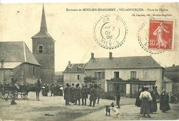 Environs De MOULINS-ENGILBERT  (58) -  VILLAPOURCON - Place De L' Eglise - Moulin Engilbert