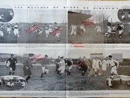 1912 RUGBY - STADE FRANÇAIS = STADOCESTE TARBAIS - STADE NANTAIS = SPORTING CLUB - C. A PÉRIGUEUX = RACING CLUB - Journaux - Quotidiens