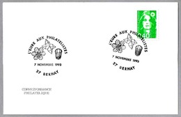 L'Eure Aux Philatelistes - MINERAL - Fosil TRILOBITE. Bernay 1993 - Minerales